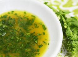 curry basil dressing