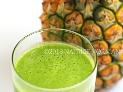 Lacinato Kale Pineapple Smoothie