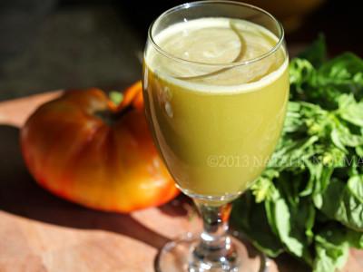 Lemon Basil Juice