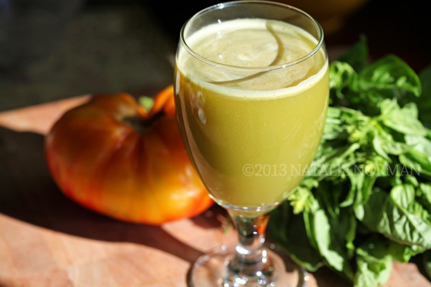 Lemon Basil Juice