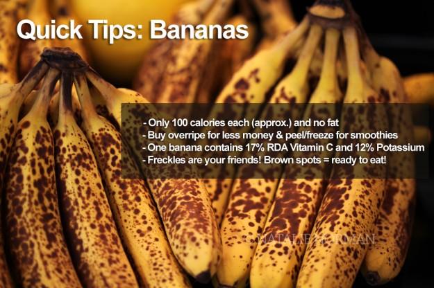 quick tips: bananas