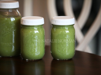 Natalie's Go-To Green Smoothie