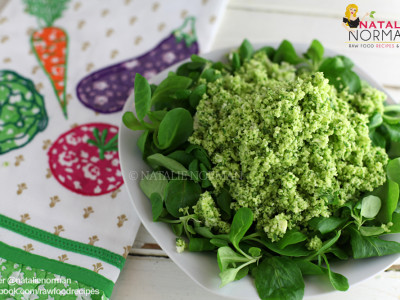 herb-couscous-atop-mache