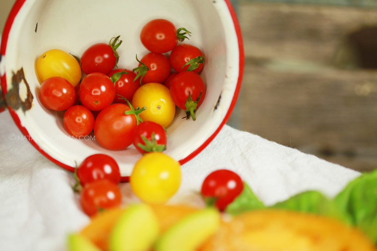 Natalie Norman Raw vegan Fusion Cuisine Asparagus Tomato