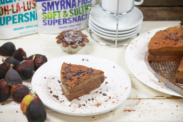 Raw Vegan Chocolate Fig Tart and Apricot Layered Tart
