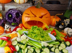 healthy raw vegan halloween with Natalie Norman