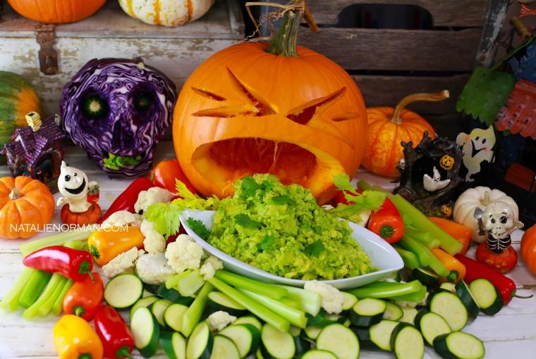 healthy raw vegan halloween with Natalie Norman