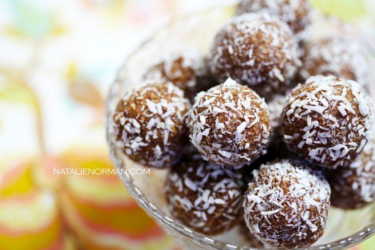 Raw Vegan Candy Truffles