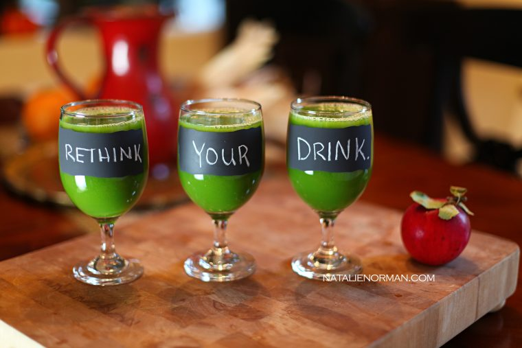 Natalie Norman Rethink Your Drink Green Juice